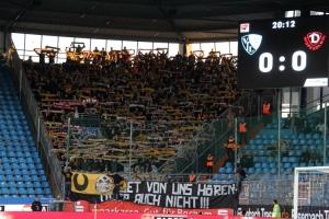Ihr werdet von uns hören oder auch nicht - Dresden DFB Protest