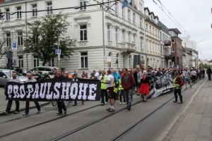 Demo für Erhalt der Paulshöhe Schwerin