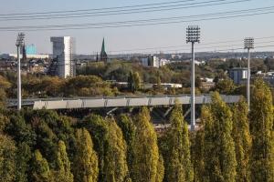 Lohrheidestadion Wattenscheid von Halde Rheinelbe