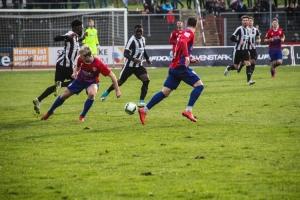Spielszenen Wattenscheid gegen KFC Uerdingen 18-02-1018