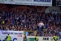 Gefühlsachterbahn bei SF Lotte vs. RB Leipzig