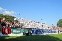 Spruchbänder beim SV Babelsberg 03 gegen RW Erfurt
