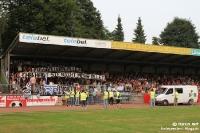 Spruchband beim FC Remscheid, Duell gegen den WSV