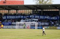 Spruchband im Ostblock beim SV Babelsberg 03