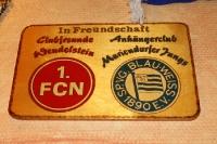 Fanfreundschaft 1. FC Nürnberg und Blau-Weiß 90 Berlin