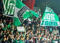 Fans der SpVgg Greuther Fürth bei Union Berlin