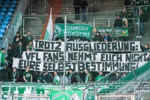 Fürther Spruchband pro Bochum Fans