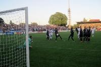Babelsbergs Rossert trifft zum 2:0 gegen den FC Rot-Weiß Erfurt
