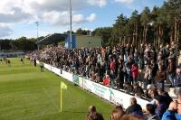 Babelsberg 03 zu Gast im Werner-Seelenbinder-Stadion in Luckenwalde