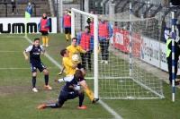 Babelsberg kriegt gegen Auerbach den Ball nicht rein