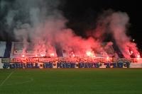 Babelsberger Choreographie beim Spiel gegen Magdeburg
