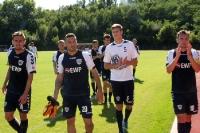 Babelsberger Mannschaft nach dem Spiel beim BAK 07