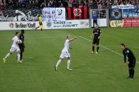 Babelsberger Torjubel beim Spiel gegen SV Wehen Wiesbaden