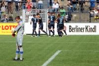Babelsberger Torjubel nach dem 1:0 gegen Osnabrück