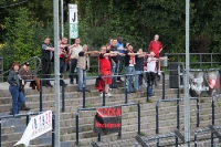Fans des SV Wehen Wiesbaden in Babelsberg