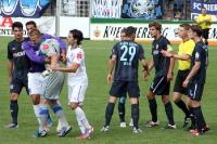 Hektische Momente beim Spiel Babelsberg gegen Osnabrück