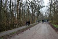Auswärtsspiel in Rathenow: Der Weg vom Bahnhof zum Stadion Vogelgesang
