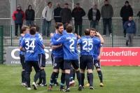 Mannschaft des SV Babelsberg 03 vor dem Spiel bei Optik Rathenow