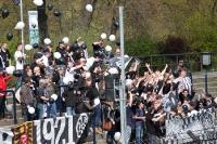 Fans des VfR Aalen zu Gast beim SV Babelsberg 03
