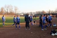 Spieler des SV Babelsberg 03 müssen beim Frankfurter FC Viktoria 91 in die Verlängerung