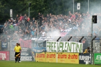 Pyro bei SV Babelsberg 03 vs. Hapoel Tel Aviv
