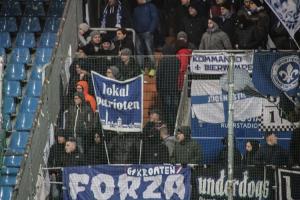 Fans von Darmstadt 98 in Bochum