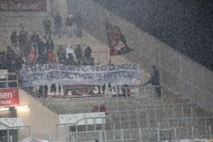 Fans des SV Lippstadt in Essen 28-02-2020