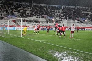 Rot-Weiss Essen gegen Lippstadt 28-02-2020 Spielszenen