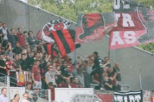 Fans des SV Lippstadt in Essen 2018
