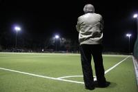 Mit Spannung wird die Partie Tasmania Berlin - FC Spandau 06 verfolgt
