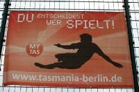 im Sportpark Neukölln des SV Tasmania Berlin