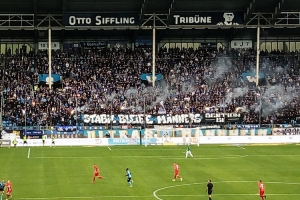 SV Waldhof Mannheim vs. F.C. Hansa Rostoc