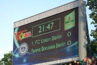 Tennis Borussia Berlin im Pokalfinale 2009 im Jahn-Sportpark gegen den 1. FC Union