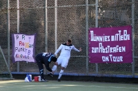 Check-up am Spielfeldrand, Tennis Borussia Berlin zu Gast beim Berliner SC