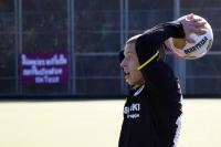 Einwurf für die Gastgeber, Tennis Borussia Berlin zu Gast beim Berliner SC