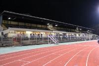 Mommsenstadion vor dem Spiel Tebe gegen SC Gatow