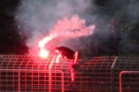 Partystimmung bei Tebe nach dem 7:1-Sieg gegen Blau Weiss Berlin