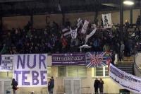 Tebe-Fans beim Pokalspiel gegen den Berliner AK