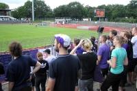 Tebe-Fans im Berliner Mommsenstadion