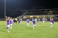Tebe Spieler nach dem Spiel gegen SC Gatow