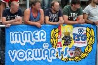 Fans der TSG Neustrelitz beim Heimspiel gegen Jena