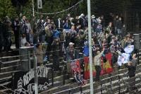 Fans der TSG Neustrelitz beim SV Babelsberg 03