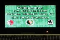 DFB-Pokalspiel Berliner AK 07 gegen TSV 1860 München