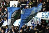 Fans des TSV 1860 München im Jahn-Sportpark
