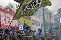 Fans des TSV 1860 München in Sandhausen