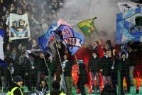 Fans von 1860 München zünden Pyrotechnik