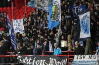 Der TSV 1860 München zu Gast beim 1. FC Union Berlin, 2. Bundesliga, 0:1, 24. Februar 2012