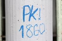 PK! 1860, Graffiti am Grünwalder Straße in München