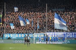 Spielszenen Bochum gegen 1860 München Dezember 2016