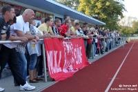 Stadion am Schwedendamm des BSC Rathenow 94 (gegen Brandenburg Süd)